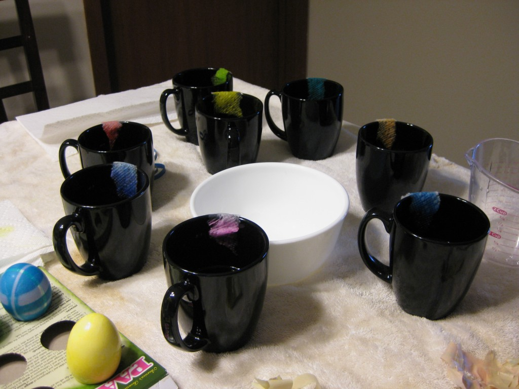 Egg Dying Supplies