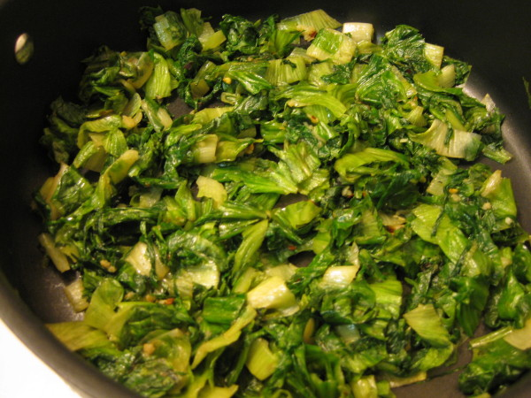Cooked Escarole